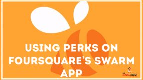 Using Perks on Foursquare's Swarm app