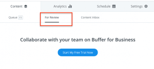 Automate Social Media Marketing using Buffer