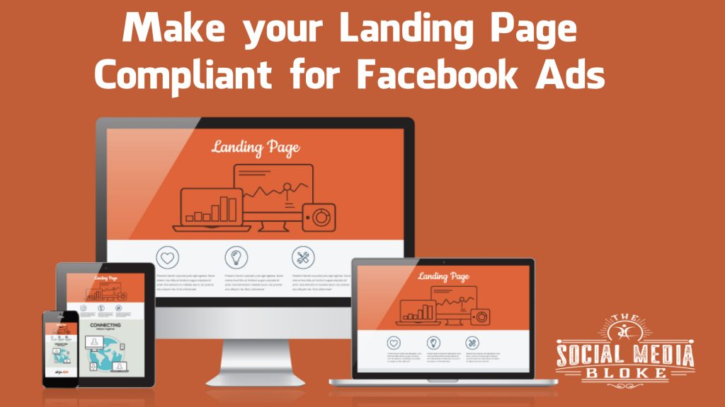 Make your Landing Page Compliant for Facebook Ads
