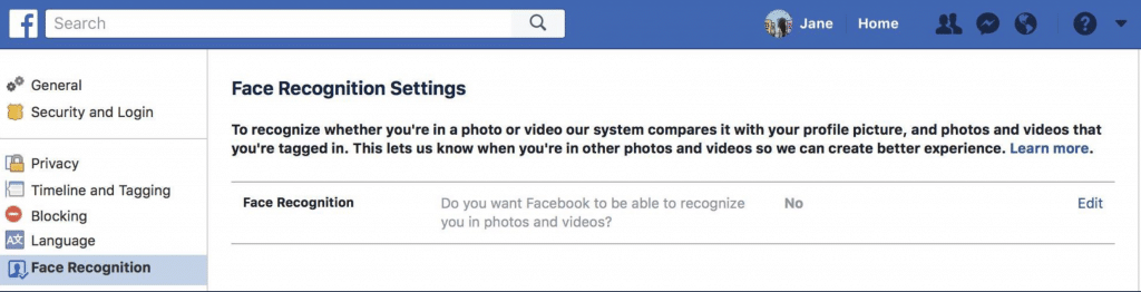 Facebook facial recognition will help you unlock your account