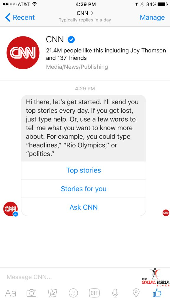 How to use facebook messenger bots - The Social Media Bloke