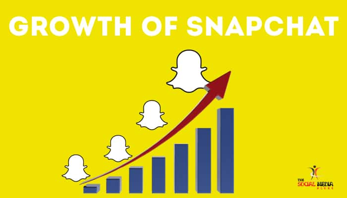 growth of snapchat