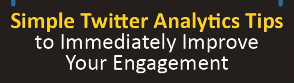 Simple twitter analytics tips for businesses