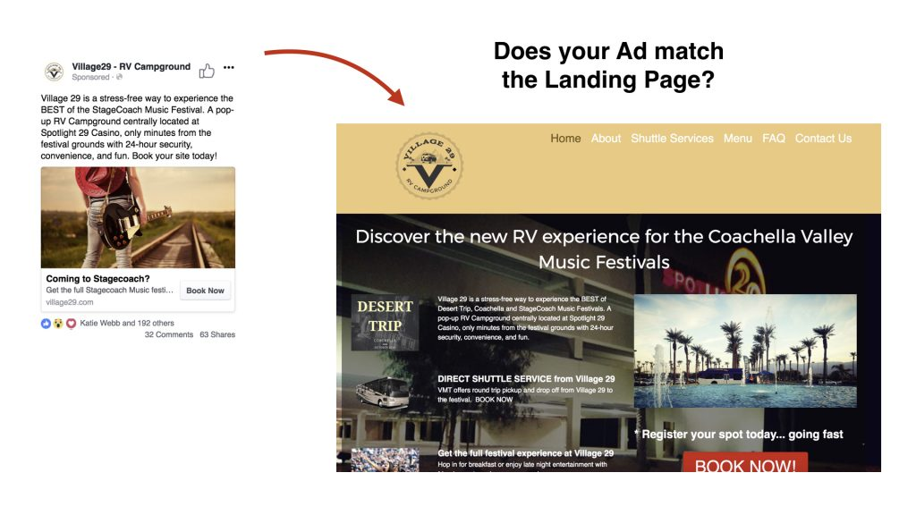 Make your Landing Page Compliant for Facebook Ads - The Social MEDIA bloke