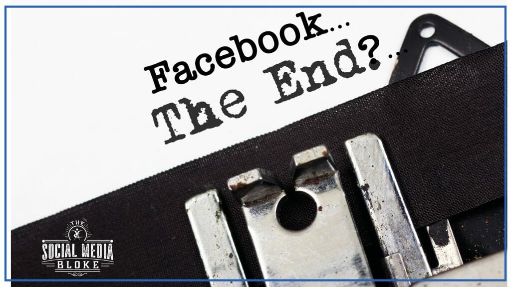 The Facebook Algorithm Changes